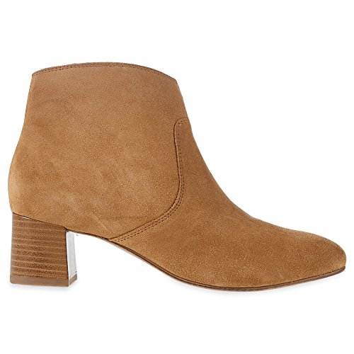 Marks & Spencer M&S Collection T027242A Genuine Suede Leather Block Heel Ankle...