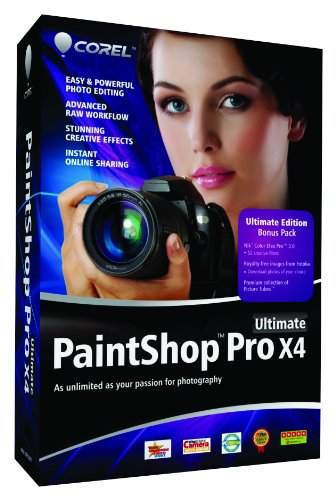 Corel PaintShop Pro X4 Ultimate, ENG
