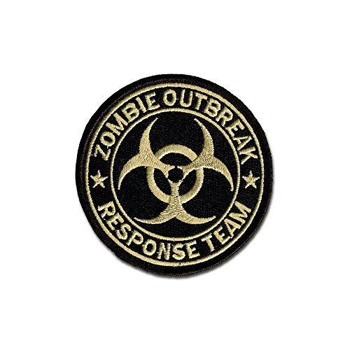 Bastion Tactical Combat Badge Military Haken und Loop Badge bestickt Klettverschluss Moral Patch-Zombie Response Team ACU -
