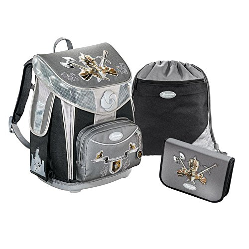 Sammies by Samsonite Premium Plus Schulranzen Set 3 tlg., Knight