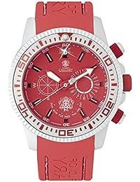 Relojes Calgary Coral Bay, Reloj clásico para Mujer, Correa Coral de Silicona, Esfera…