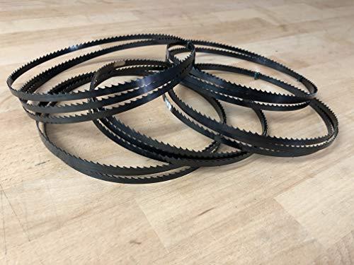 5x Bandsägeblätter 1400mm x 6mm x 0,65 6ZpZ