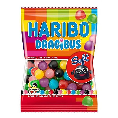 Haribo dragibus soft sachet 300g - ( Prix Unitaire ) - Envoi Rapide Et Soignée