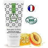 Cuidado Exfoliante Facial Bio con miel y con aceite de albaricoque (Bio 100 ml – Exfoliante de piel dulce sin.