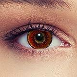 Orangen farbige Dämonen Kontaktlinsen für Halloween Farblinsen in orange