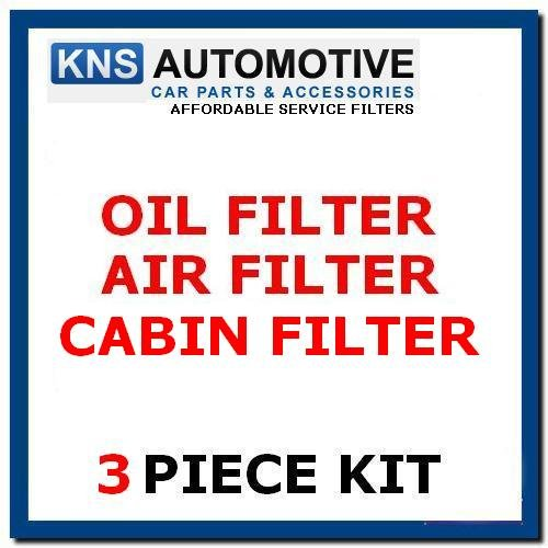 Ford Focus 1.4,1.6 Petrol (07-11) Oil,Air,& Pollen Filter Service Kit