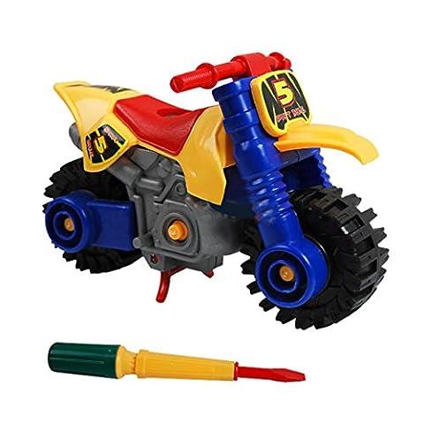 Jouets pour bébé,Transer®1pc mode démontage moto Design jouets éducatifs pour les enfants(Random