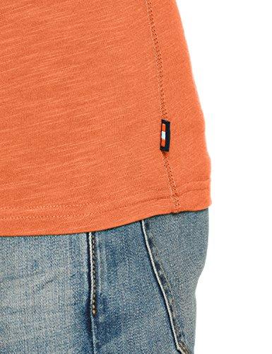 Superdry Herren T-Shirt Premium Goods Duo Tee Arancione (Frontier Orange)