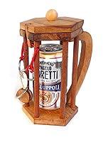 OBJECTIF:  Libérer la canette de bière de la prison avec un très intelligent cadenas.  Une nouveauté absolue dans le genre des casse-tête porte-objets. Cela peut contenir une canette de bière ou d'autres choses à votre goût et bien sûr c'est le cadea...