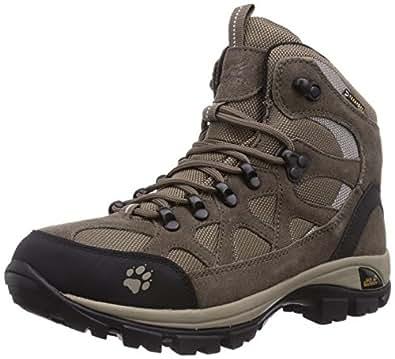 Jack Wolfskin All Terrain Texapore, Chaussures de randonnée femme - Beige (Moon Rock 5041), 39.5 EU