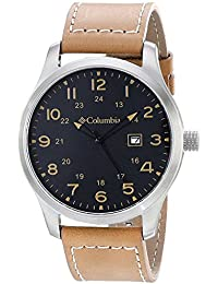 Columbia hombre ca077–261Fieldmaster II Beige reloj de cuarzo analógica Display por Columbia