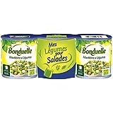 Bonduelle macédoine 1/4 lotx3 390g - ( Prix Unitaire ) Envoi Rapide Et Soignée