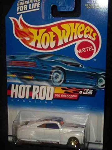 Hot Rod Magazine Series #3 Tail Dragger Painted Base #2000-7 Collectible Collector Car Mattel Hot Wheels 1:64 Scale by Hot Wheels