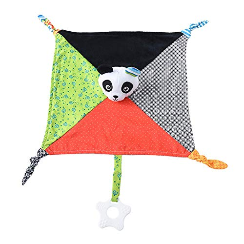Pinfect 29x29cm Baby Infant Velvet Appease Towel Soft Teether Sleeping Toy (Panda)