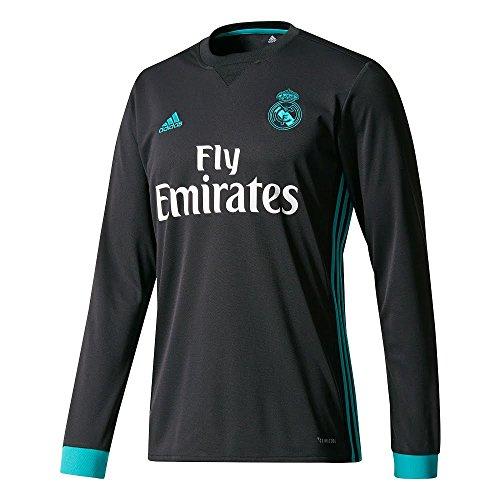 adidas A JSY LS Camiseta 2ª Equipación Real Madrid 2017-2018-Champions  League 8c4450507af1b