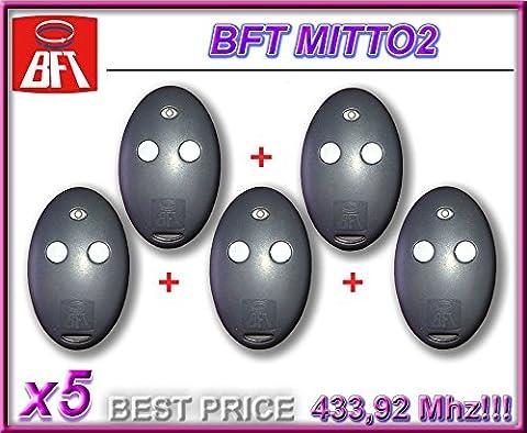 Telecommande Bft 02 - Bft Lot de 5 télécommandes Mitto 2