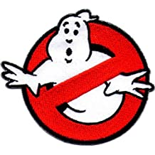 Ghostbusters Cosplay Movie Costume Morale Velcro Patch Iron On Cazafantazmas Parche Termoadhesivo Bordado