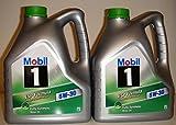 Mobil 1 Esp Formula 5W30 - Aceite para motor (100% sintético, aprobado por BMW y Mercedes, 2 garrafas de 4 litros, 8 litros en total)
