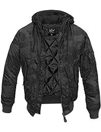 Brandit MA-1 Jacke Sweat Hooded Fliegerjacke