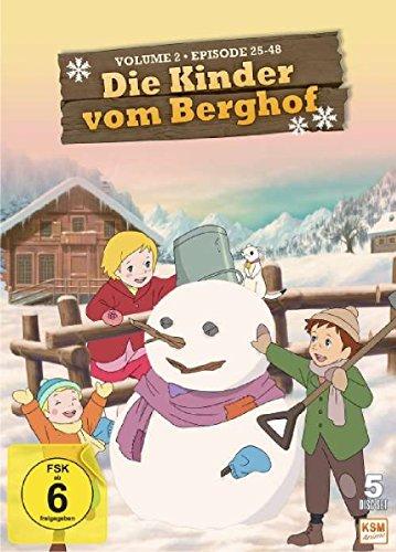 Die Kinder vom Berghof - Volume 2 (Episode 25-48 im 5 Disc Set)