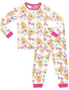 Barbie - Pigiama a maniche lunghe per ragazze - Barbie - 3 - 4 Anni
