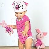 Costume/grenouillère bébé officielle Disney - Porcinet de Winnie l'ourson - Taille 3-6 mois
