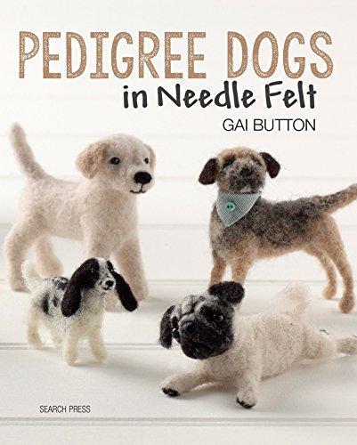 Pedigree Dogs in Needle Felt por Gai Button