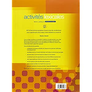 Activités lexicales. Per la Scuola media: 2