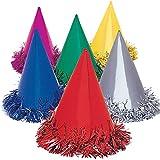 idealWigsNet Cappelli da Festa Rivestiti in Lamina con Coni