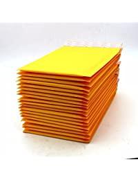 11x13cm : 50pcs 23 Sizes Wholesales Golden Kraft Bubble Mailers Bags/Yellow Small Kraft Bubble Envelope,kraft...
