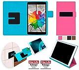 reboon LG G Pad 3 8.0 FHD Hülle Tasche Cover Case Bumper | in Pink | Testsieger
