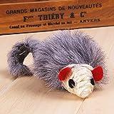 Yosoo Real Rabbit Fur Mouse Catnip Cat Toy with...