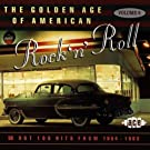 The Golden Age Of American Rock 'n' Roll, Volume 6: Hot 100 Hits From 1954-1963 Import Edition by Various Artists (1997) Audio CD