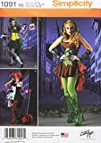 Best Simplicity Costumes - SIMPLICITY 1091 Misses' Super Villainess Costumes Sewing Template Review
