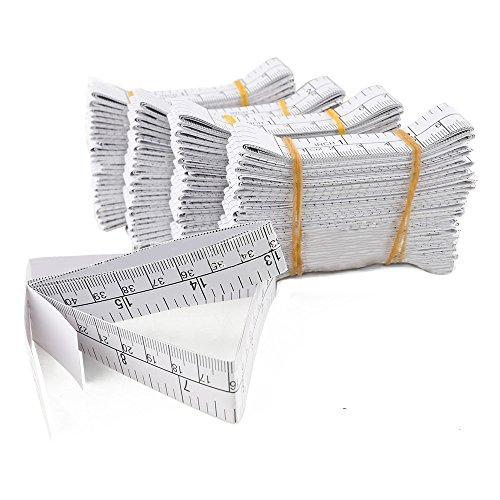 501m Papier Lineal doppelseitig drucken cm Zoll 1,5m Papier Lineal Custom