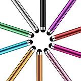 LAMEIDA Lápiz óptico para la Pantalla Táctil Teléfonos Inteligentes Lapiz Capacitivo para Smartphones Tabletas y Otros Dispositivos con Pantalla Táctil iPhone Sony LG HTC Huawei iPad Asus Lenovo Samsung-10 unidades
