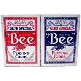 Brybelly Holdings PCP-2150PD 12 Bee No. 92 Diamond Back Club Special Red-Blue Decks Reg by Brybelly Holdings