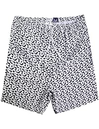 Mens Brave Soul Jaws Designer All Over Shark Print Beach Swimming Shorts Trunks
