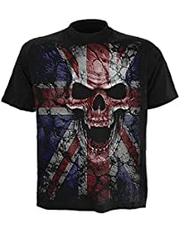 Spiral - Men - UNION WRATH - T-Shirt Black