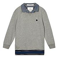 J By Jasper Conran Kids Boys' Grey Mock Sweater Age 13-14