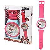 Disney Minnie Mouse - Horloge Pendule Murale Les Enfants 92,0 cm