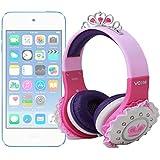 DURAGADGET Divertidos Auriculares De Princesa Para Apple iPod Touch ( 6 / 5 / 4 / 3 / 2 / 1 Generación ) - Con Una Excelente Calidad De Sonido Y Conexión Jack De 3.5mm