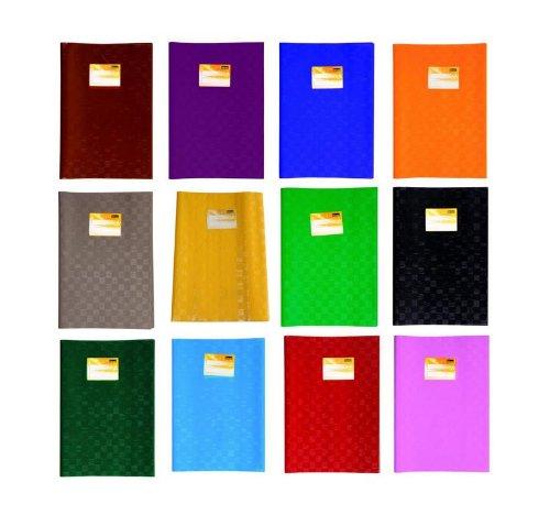 12 copertine per quaderni a4, 12 colori