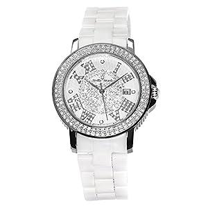 Stella Maris STM15P1 - Reloj de cuarzo con correa de cerámica para mujer, color blanco de Stella Maris