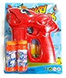 #7: Zest 4 Toyz Battery Operated Bubble Shooter Gun with Bubble Bottle Inside