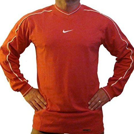Nike Dri Fit fit Training Long Sleeve Shirt, rot - 758419, XXL Red 614 -