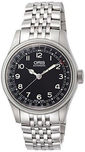 Oris gran corona puntero FECHA ORIGINAL 75476964064M reloj para hombres de [Regular importados]