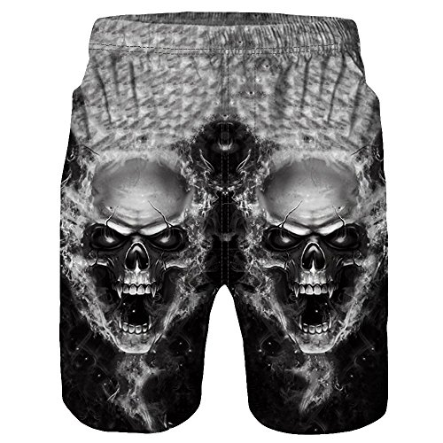 Herren Shorts, Kanpola Casual Männer 3D Gedruckt Kurze Hosen Sport Jogger Unterhose Sporthose Boxershorts Retroshorts Casual Strand Badehose Badeshorts