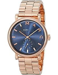 Marc Jacobs MBM3330 - Reloj con correa de metal, para mujer, color azul / rosa