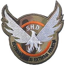 aquiver Eagle Ronda bordado parches insignias militares parche parches morcla táctica bolsa de brazalete para el desarrollo humano sostenible